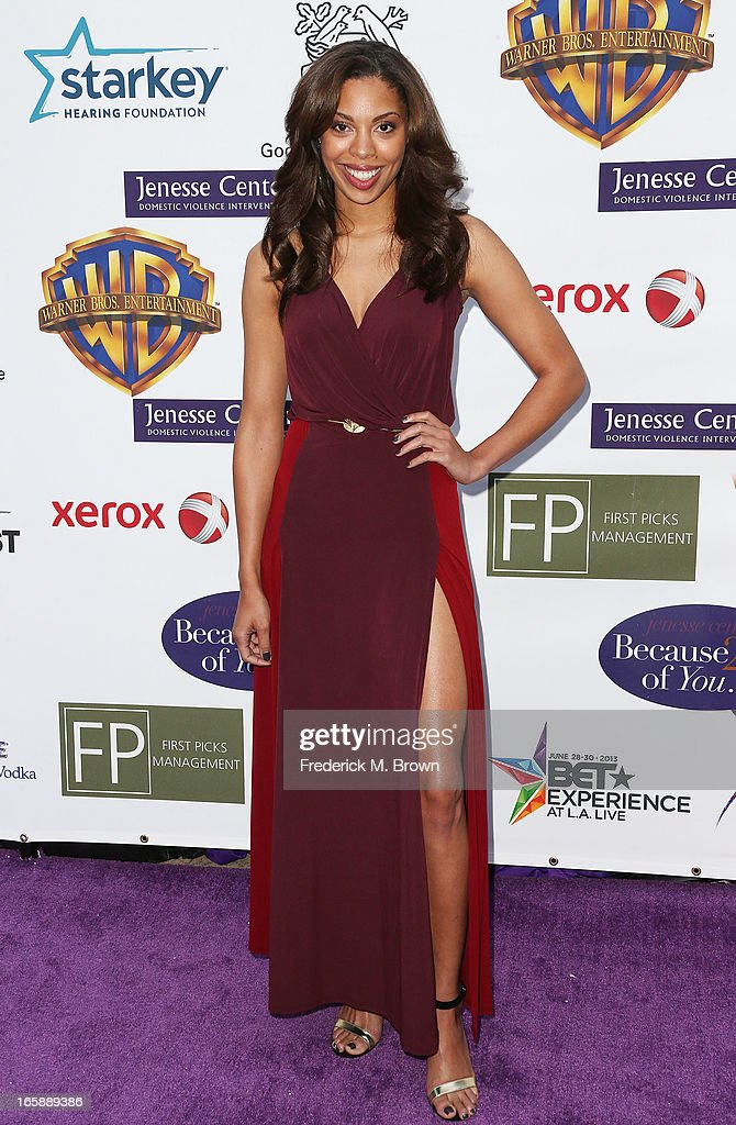 Actress Ciera Payton attends the 2013 Jenesse Silver Rose Awards Gala and Auction at Vibiana on April 6, 2013 in Los Angeles, California.