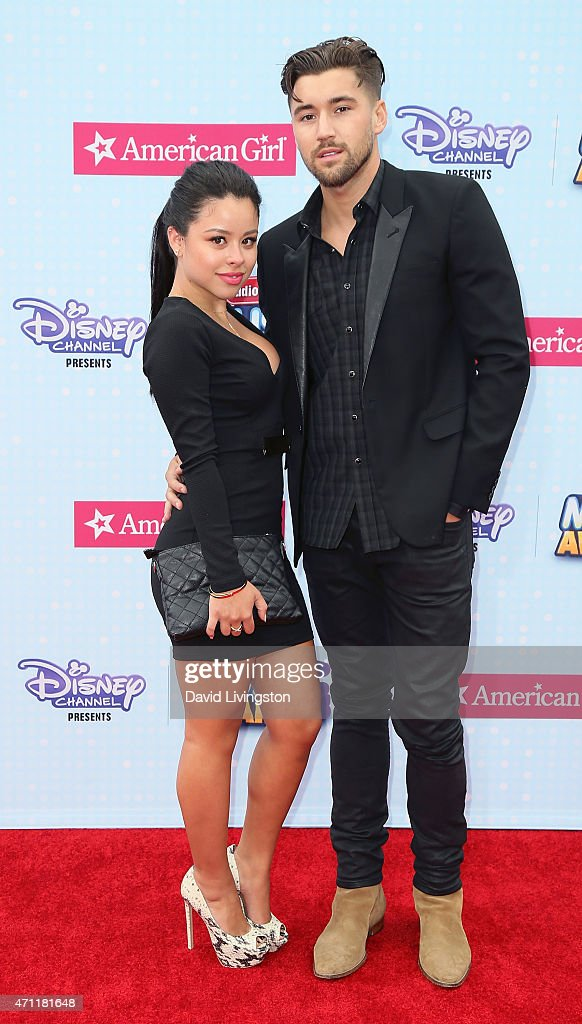 Actress Cierra Ramirez and guest attend the 2015 Radio Disney Music Awards at Nokia Theatre LA Live on April 25 2015 in Los Angeles California