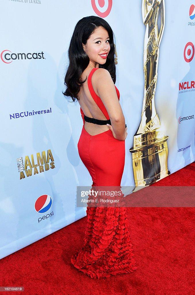 Actress Cierra Ramirez arrives at the 2012 NCLR ALMA Awards at Pasadena Civic Auditorium on September 16 2012 in Pasadena California