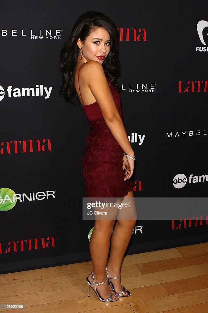 Actress Cierra Ramirez attends LATINA Magazine's '30 Under 30' Celebration at SkyBar at the Mondrian Los Angeles on November 13 2014 in West...
