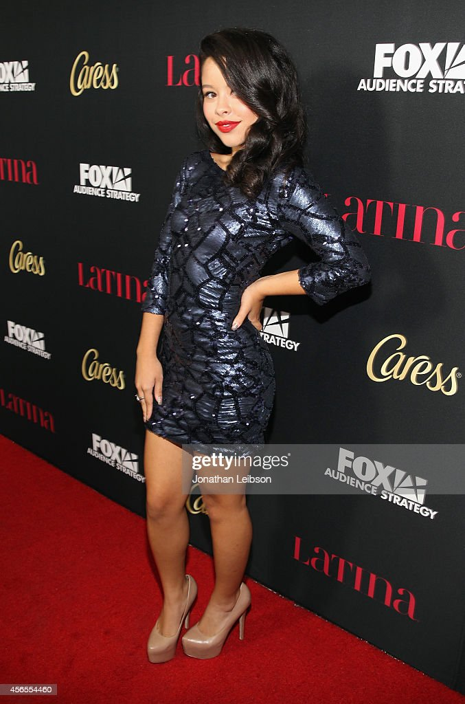 Actress Cierra Ramirez attends Latina Magazine's 'Hollywood Hot List' Party at Sunset Tower on October 2 2014 in West Hollywood California