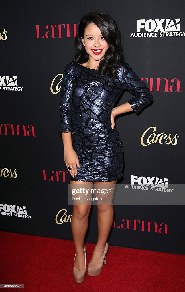 Actress Cierra Ramirez attends LATINA Magazine's 'Hollywood Hot List' party at the Sunset Tower Hotel on October 2 2014 in West Hollywood California