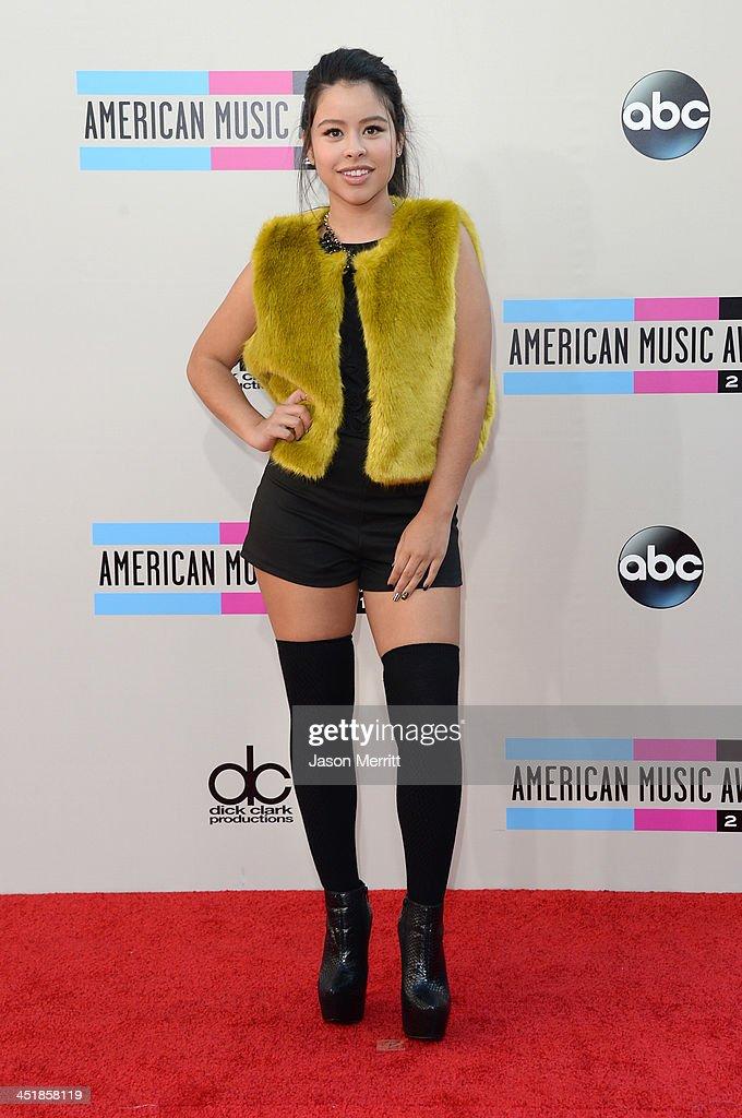 Actress Cierra Ramirez attends the 2013 American Music Awards at Nokia Theatre LA Live on November 24 2013 in Los Angeles California