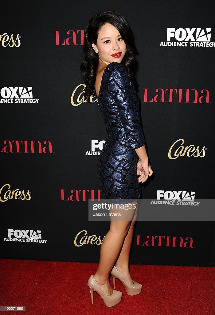 Actress Cierra Ramirez attends the Latina Magazine 'Hollywood Hot List' party at Sunset Tower Hotel on October 2 2014 in West Hollywood California
