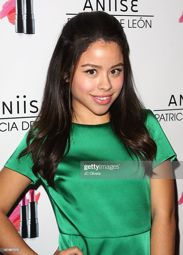 Actress Cierra Ramirez attends the launch party for 'Aniise by Patricia De Leon' at Nobu on January 20 2015 in Los Angeles California