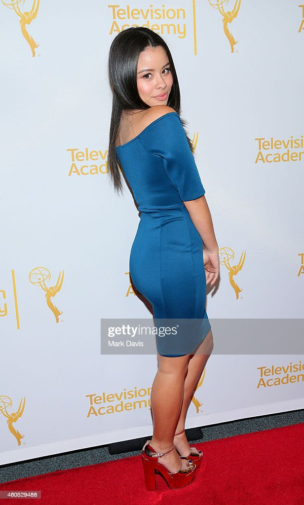 Actress Cierra Ramirez attends the Television Academy Presents An Evening With 'The Fosters' held at the El Portal Theatre on December 15 2014 in...