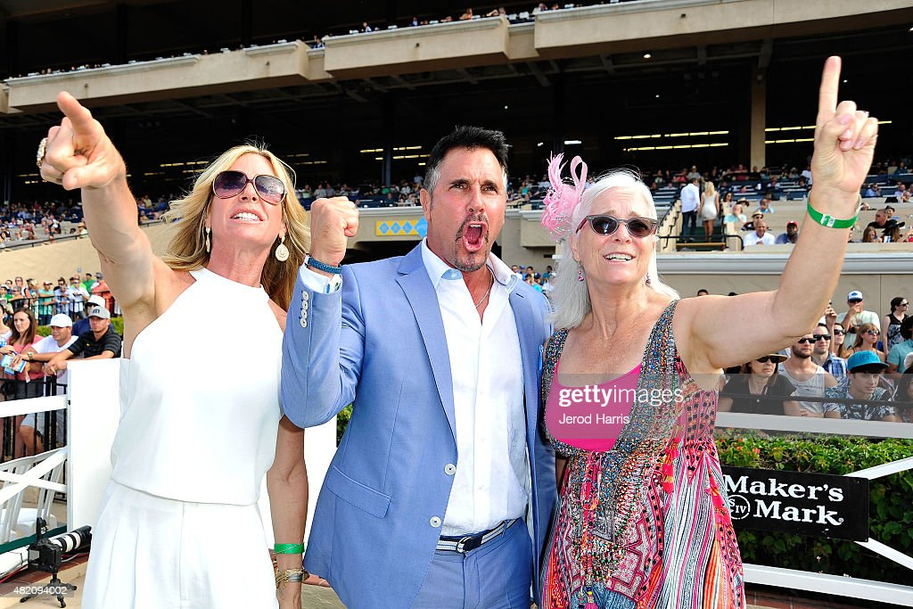 Actress Cindy Ambuehl actor Don Diamont and Lung Cancer Foundation of America Founder/President Kim Norris attend the Lung Cancer Foundation of...