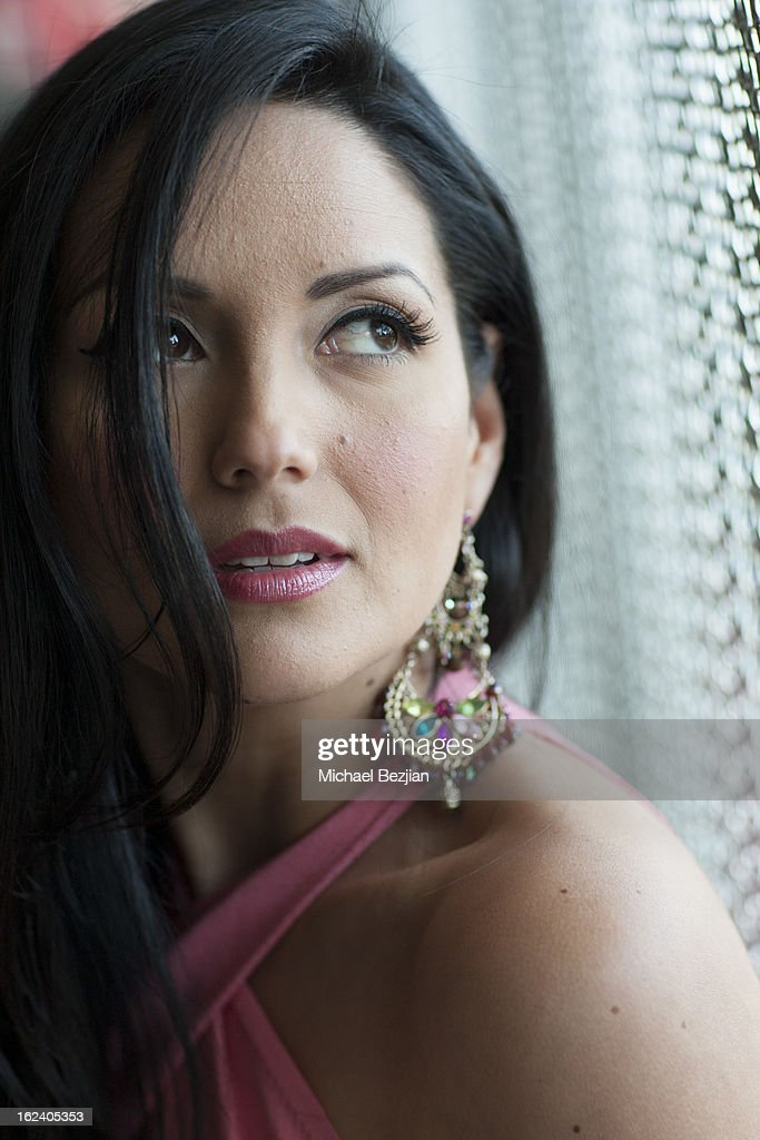 Actress Cindy Vela attends Le Lounge on February 22, 2013 in Los Angeles, California.