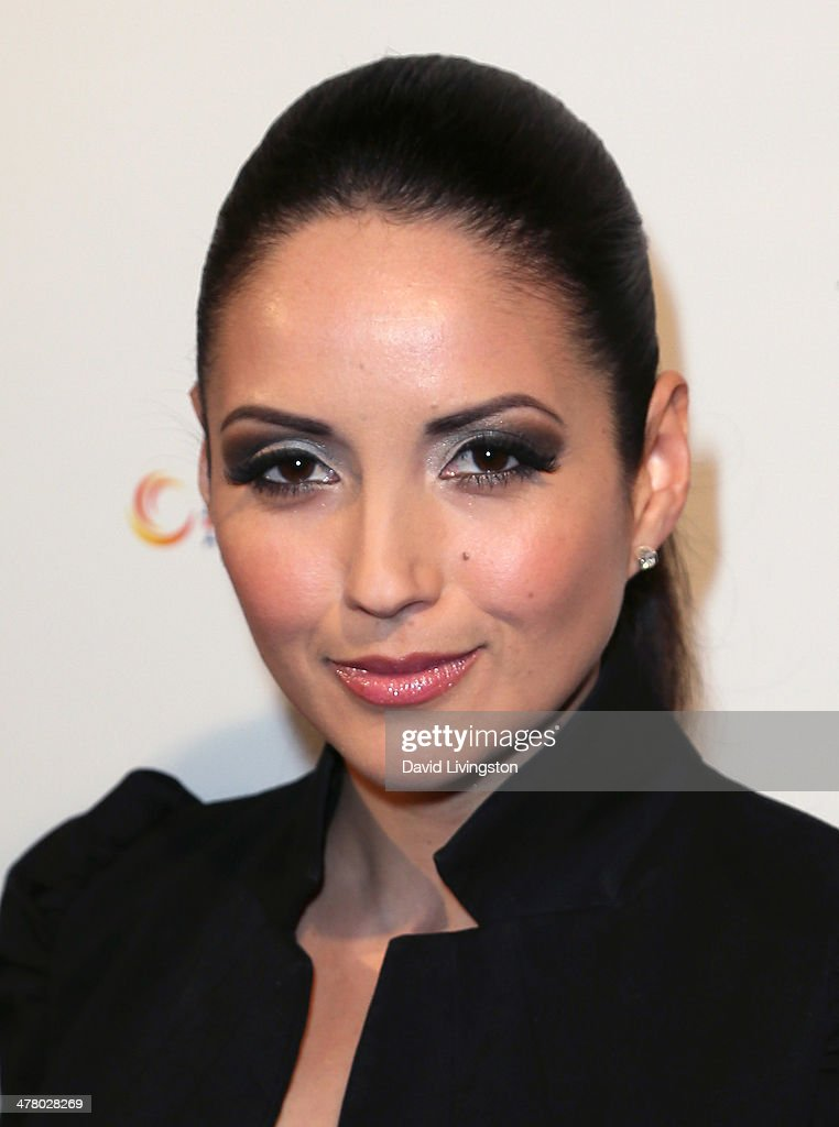 Actress Cindy Vela attends the premiere of Sideshow Releasing's 'Shirin In Love' at Avalon on March 11, 2014 in Hollywood, California.