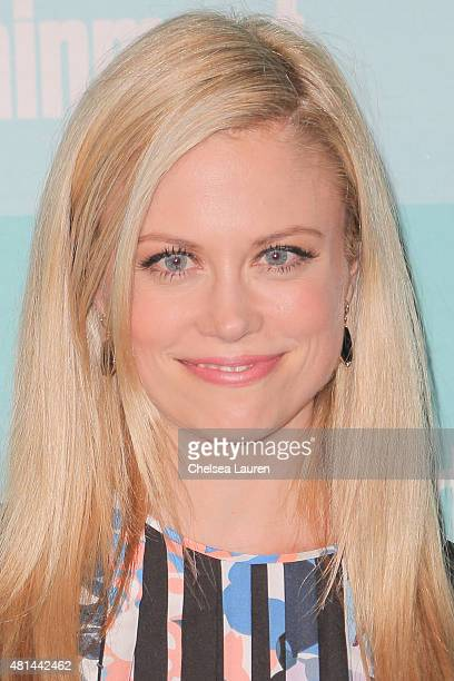 Actress Claire Coffee arrives at the Entertainment Weekly celebration at Float at Hard Rock Hotel San Diego on July 11 2015 in San Diego California