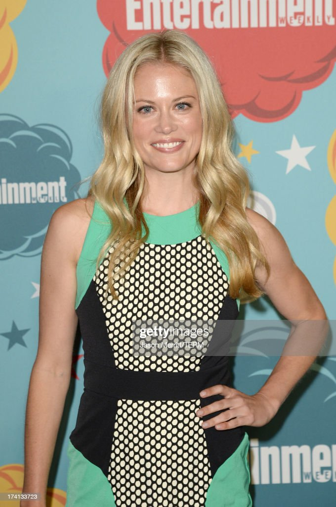 Actress Claire Coffee attends Entertainment Weekly's Annual Comic-Con Celebration at Float at Hard Rock Hotel San Diego on July 20, 2013 in San Diego, California.