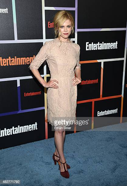 Actress Claire Coffee attends Entertainment Weekly's annual ComicCon celebration at Float at Hard Rock Hotel San Diego on July 26 2014 in San Diego...