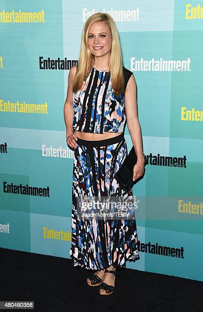 Actress Claire Coffee attends Entertainment Weekly's ComicCon 2015 Party sponsored by HBO Honda Bud Light Lime and Bud Light Ritas at FLOAT at The...
