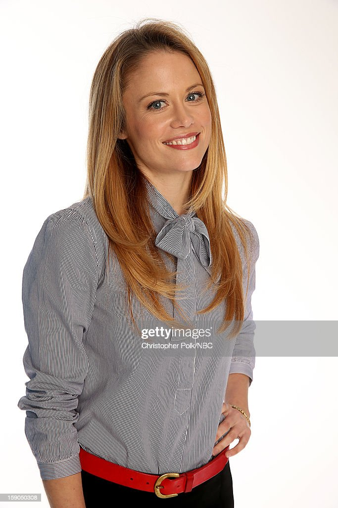 Actress Claire Coffee attends the NBCUniversal 2013 TCA Winter Press Tour at The Langham Huntington Hotel and Spa on January 6, 2013 in Pasadena, California.