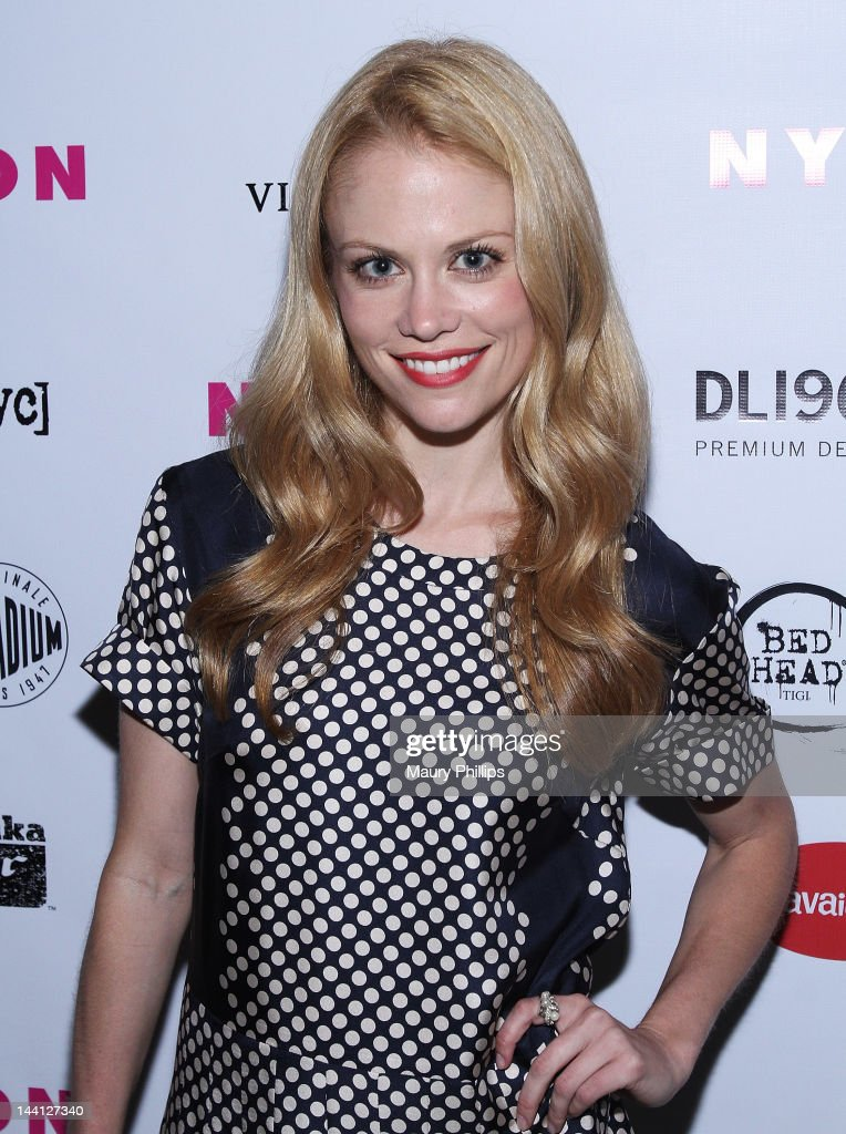 Actress Claire Coffee attends the NYLON Magazine And Tommy Girl Celebrate The Annual May Young Hollywood Issue - Party at Hollywood Roosevelt Hotel on May 9, 2012 in Hollywood, California.