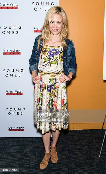Actress Claire Coffee attends 'The Young Ones' New York Premiere at Sunshine Landmark on October 9 2014 in New York City