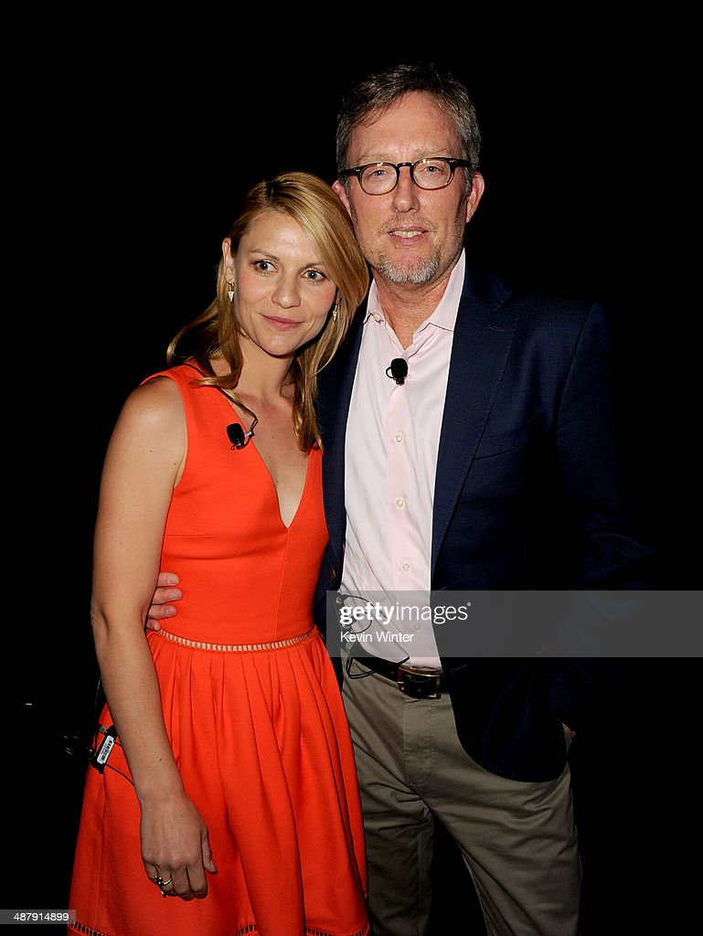 Actress Claire Danes and Executive Producer Alex Gansa appear at a screening of Showtime's 'Homeland' Season 3 Finale 'The Star' at 20th Century Fox...