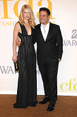 Actress Claire Danes and Narciso Rodriguez attend the 2009 CFDA Fashion Awards at Alice Tully Hall Lincoln Center on June 15 2009 in New York City