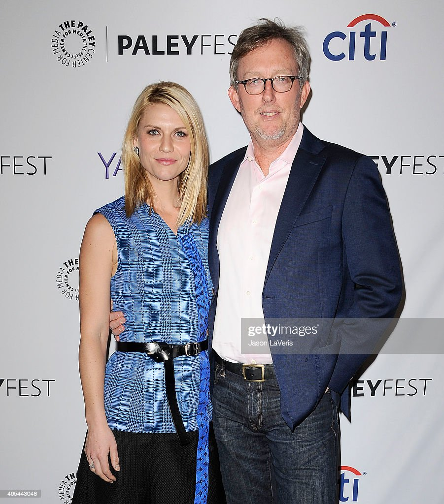 Actress Claire Danes and producer Alex Gansa attend the 'Homeland' event at the 32nd annual PaleyFest at Dolby Theatre on March 6 2015 in Hollywood...