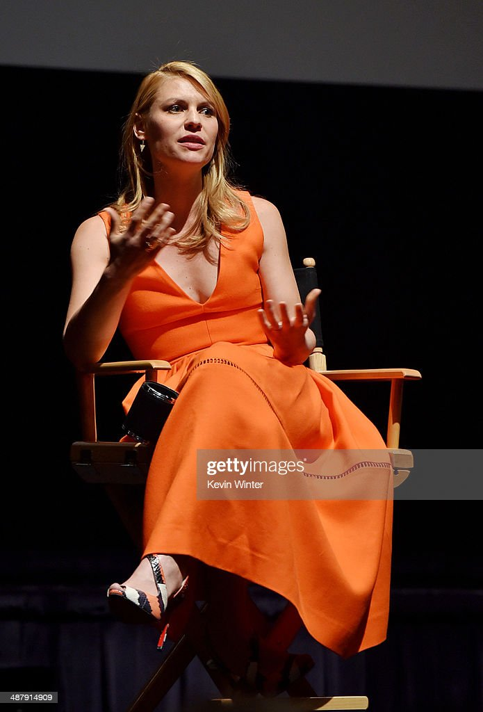 Actress <a gi-track='captionPersonalityLinkClicked' href=/galleries/search?phrase=Claire+Danes&family=editorial&specificpeople=202666 ng-click='$event.stopPropagation()'>Claire Danes</a> appears at a screening of Showtime's 'Homeland' Season 3 Finale 'The Star' at 20th Century Fox Studios on May 2, 2014 in Los Angeles, California.