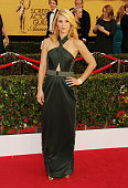 Actress Claire Danes arrives at the 21st Annual Screen Actors Guild Awards at The Shrine Auditorium on January 25 2015 in Los Angeles California