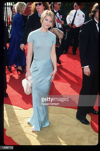 Actress Claire Danes arrives at the 69th Annual Academy Awards ceremony March 24 1997 in Los Angeles CA