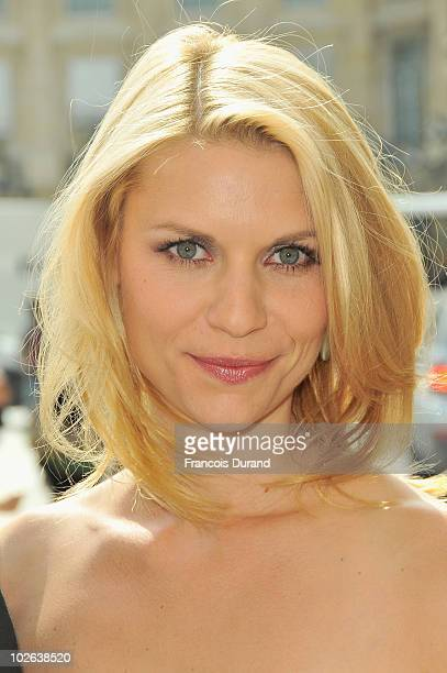 US actress Claire Danes arrives at the Giorgio Armani Prive show as part of the Paris Haute Couture Fashion Week Fall/Winter 2011 at Espace Vendome...