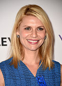 Actress Claire Danes arrives at The Paley Center For Media's 32nd Annual PALEYFEST LA 'Homeland' at Dolby Theatre on March 6 2015 in Hollywood...