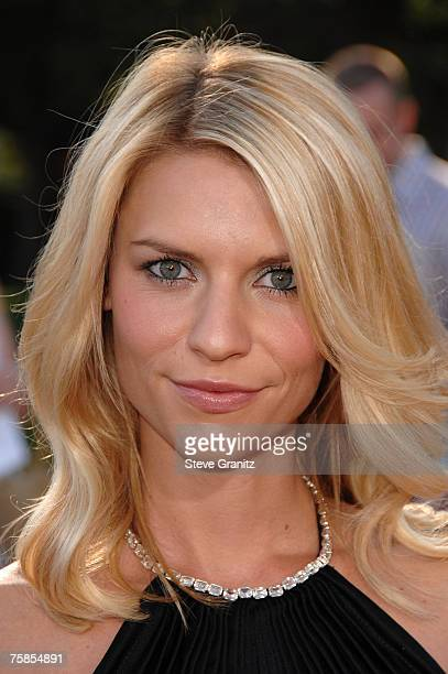 Actress Claire Danes at the ' Stardust ' Los Angeles premiere at Paramount Studio Theatre on July 29 2007 in Los Angeles California
