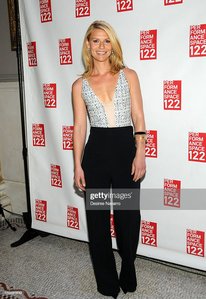 Actress Claire Danes attends 2015 PS 122 Spring Gala Honoring Claire Danes at Capitale on April 20 2015 in New York City