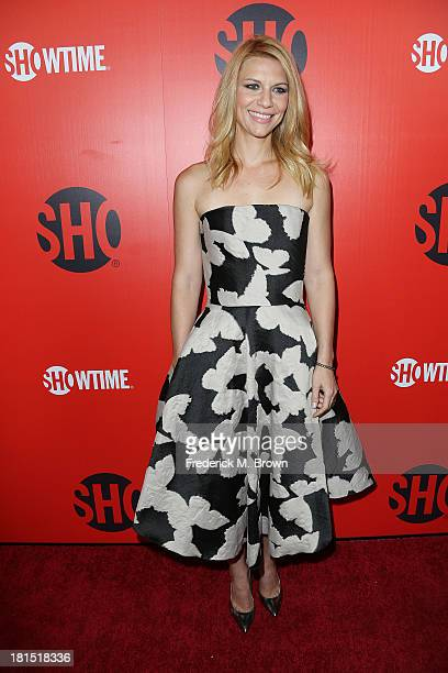 Actress Claire Danes attends Showtime 2013 EMMY Eve Soiree at the Sunset Tower Hotel on September 21 2013 in West Hollywood California