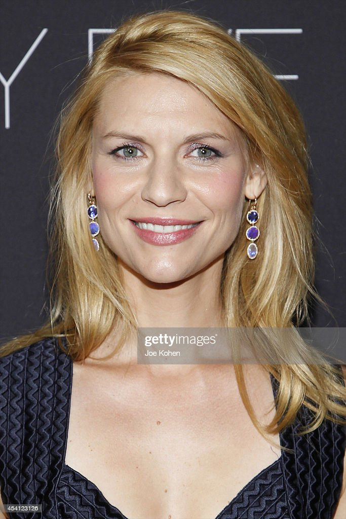 Actress Claire Danes attends Showtime 2014 Emmy Eve at Sunset Tower on August 24 2014 in West Hollywood California