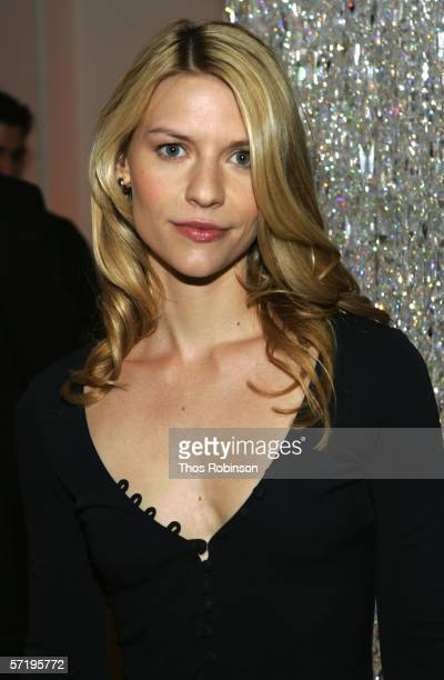 Actress Claire Danes attends the 2006 CFDA Fashion Awards Nominations at Rooftop Gardens Rockefeller Center on March 27 2006 in New York City