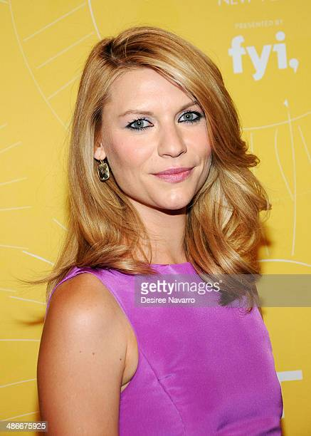 Actress Claire Danes attends the 2014 Variety Power Of Women New York Luncheon at Cipriani 42nd Street on April 25 2014 in New York City