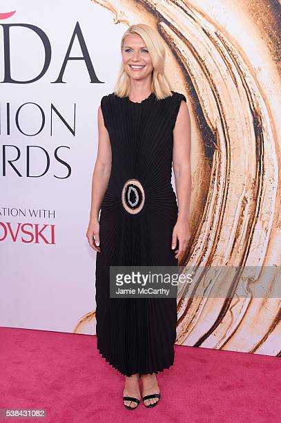 Actress Claire Danes attends the 2016 CFDA Fashion Awards at the Hammerstein Ballroom on June 6 2016 in New York City