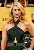 Actress Claire Danes attends the 21st Annual Screen Actors Guild Awards at The Shrine Auditorium on January 25 2015 in Los Angeles California