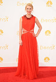 Actress Claire Danes attends the 66th annual Primetime Emmy Awards at Nokia Theatre LA Live on August 25 2014 in Los Angeles California