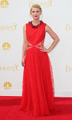 Actress Claire Danes attends the 66th Annual Primetime Emmy Awards at the Nokia Theatre LA Live on August 25 2014 in Los Angeles California