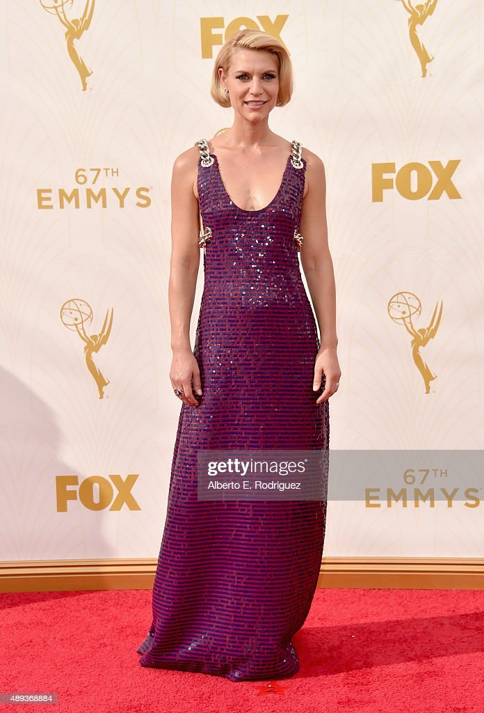 Actress Claire Danes attends the 67th Emmy Awards at Microsoft Theater on September 20 2015 in Los Angeles California 25720_001