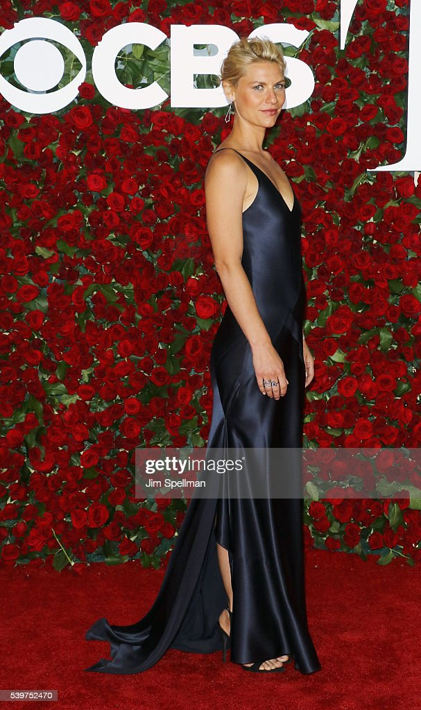 Actress Claire Danes attends the 70th Annual Tony Awards at Beacon Theatre on June 12 2016 in New York City