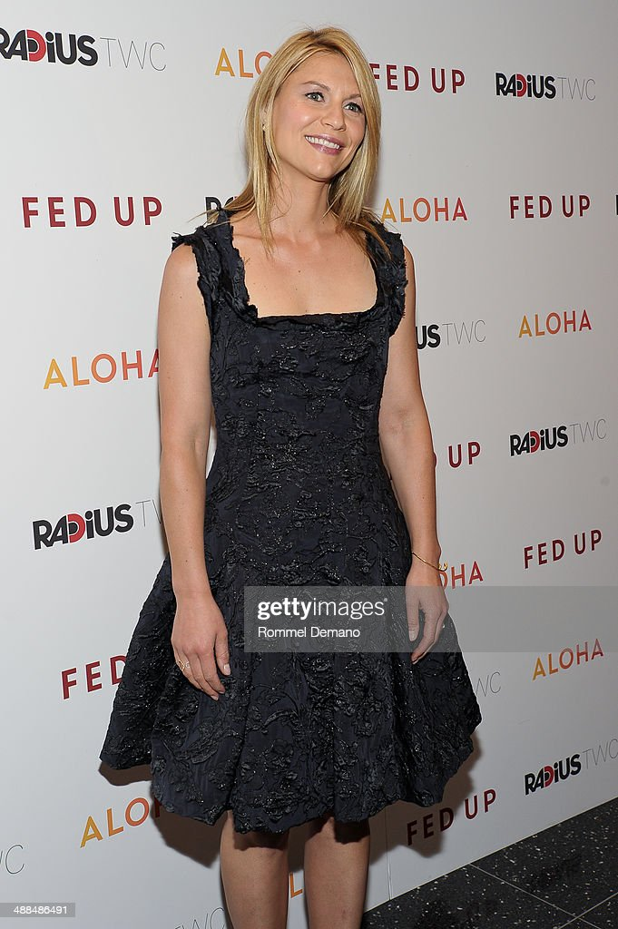 Actress <a gi-track='captionPersonalityLinkClicked' href=/galleries/search?phrase=Claire+Danes&family=editorial&specificpeople=202666 ng-click='$event.stopPropagation()'>Claire Danes</a> attends the 'Fed Up' premiere at Museum of Modern Art on May 6, 2014 in New York City.