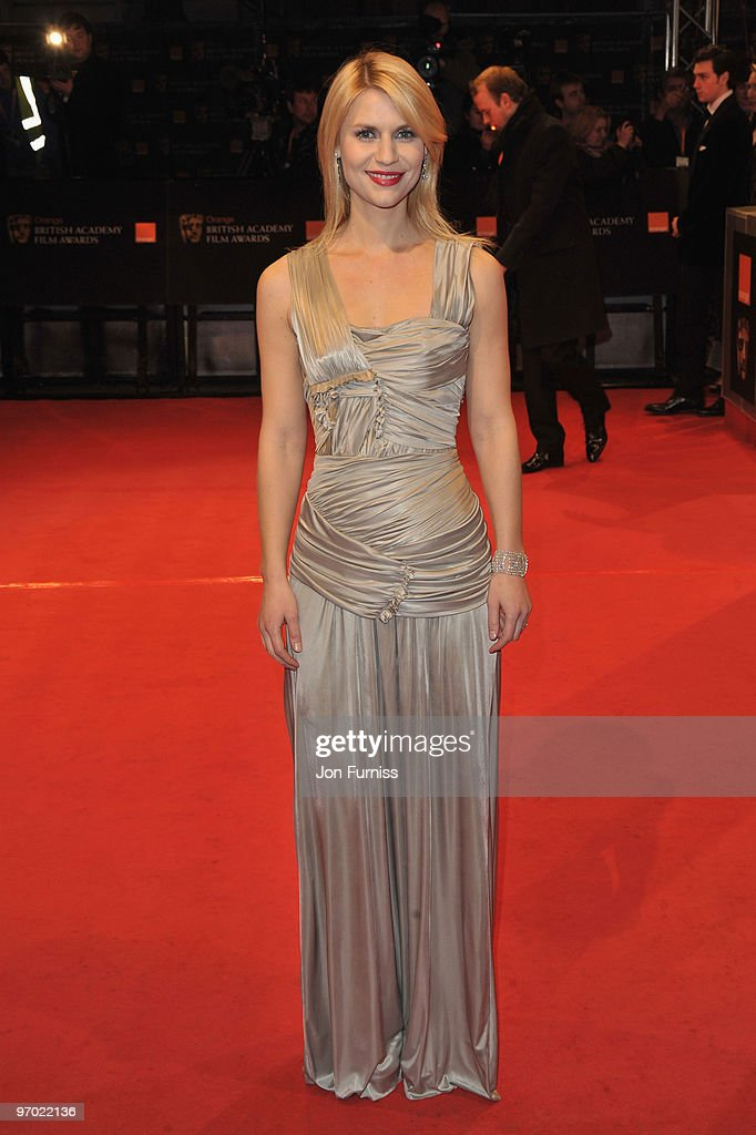 Actress Claire Danes attends the Orange British Academy Film Awards 2010 at the Royal Opera House on February 21, 2010 in London, England.