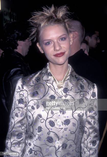 Actress Claire Danes attends the 'Romeo Juliet' Hollywood Premiere on October 27 1996 at Mann's Chinese Theatre in Hollywood California