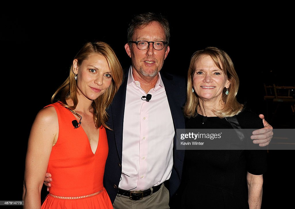Actress <a gi-track='captionPersonalityLinkClicked' href=/galleries/search?phrase=Claire+Danes&family=editorial&specificpeople=202666 ng-click='$event.stopPropagation()'>Claire Danes</a>, executive producer <a gi-track='captionPersonalityLinkClicked' href=/galleries/search?phrase=Alex+Gansa&family=editorial&specificpeople=8016431 ng-click='$event.stopPropagation()'>Alex Gansa</a> and ABC News journalist <a gi-track='captionPersonalityLinkClicked' href=/galleries/search?phrase=Martha+Raddatz&family=editorial&specificpeople=5003951 ng-click='$event.stopPropagation()'>Martha Raddatz</a> appear at a screening of Showtime's 'Homeland' Season 3 Finale 'The Star' at 20th Century Fox Studios on May 2, 2014 in Los Angeles, California.