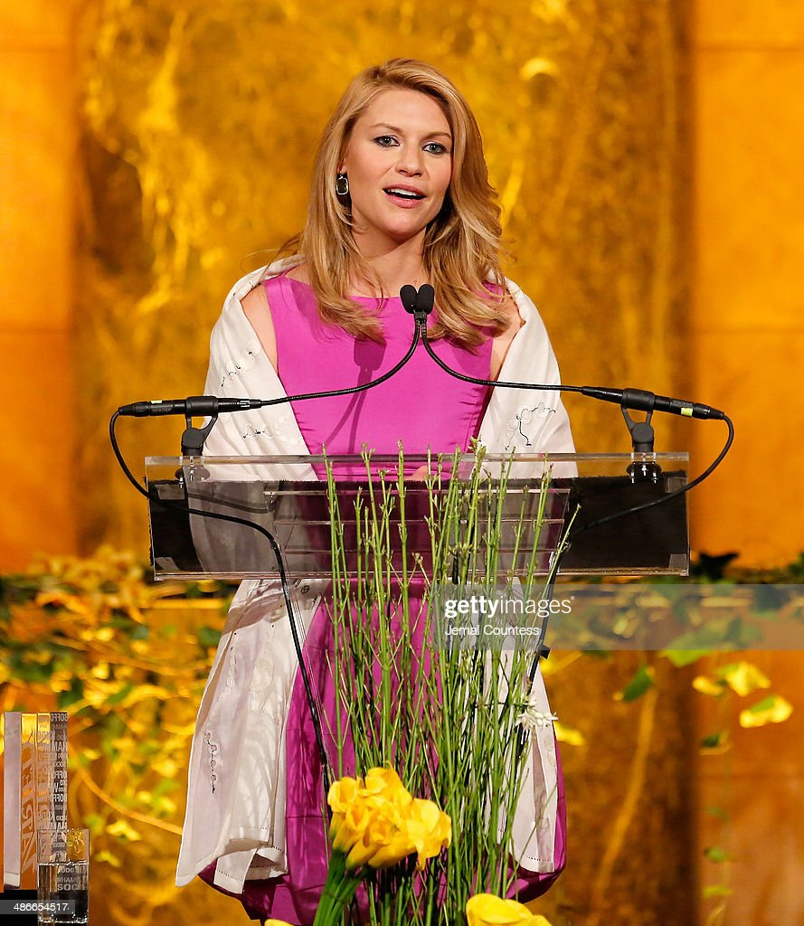 Actress Claire Danes speaks onstage at Variety Power Of Women New York presented by FYI at Cipriani 42nd Street on April 25 2014 in New York City