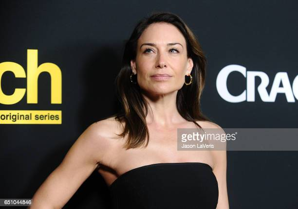 Actress Claire Forlani attends the premiere of 'Snatch' at Arclight Cinemas Culver City on March 9 2017 in Culver City California