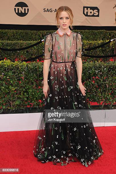 Actress Claire Foy arrives at the 23rd Annual Screen Actors Guild Awards at The Shrine Expo Hall on January 29 2017 in Los Angeles California