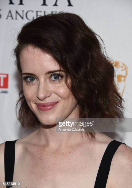 Actress Claire Foy arrives at the BBC America BAFTA Los Angeles TV Tea Party 2017 at The Beverly Hilton Hotel on September 16 2017 in Beverly Hills...