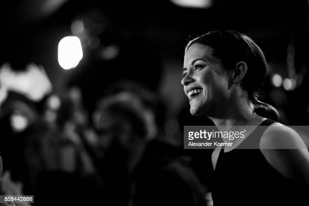Actress Claire Foy arrives for the 'Breathe' premiere at the 13th Zurich Film Festival on October 6 2017 in Zurich Switzerland The Zurich Film...