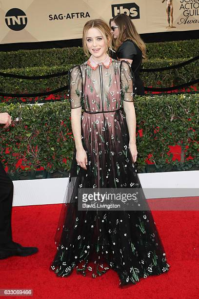 Actress Claire Foy attends the 23rd Annual Screen Actors Guild Awards at The Shrine Expo Hall on January 29 2017 in Los Angeles California